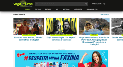 vagalume.com.br - vagalume - letras de músicas