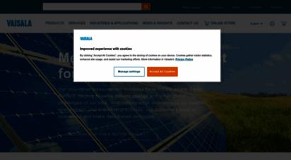 vaisala.com - vaisala - a global leader in environmental and industrial measurement
