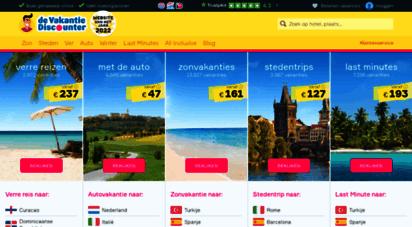 vakantiediscounter.nl - goedkope vakanties boek je ook in 2020 bij dé vakantiediscounter