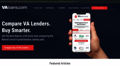 valoans.com - va loan information - va loans for veterans and active military