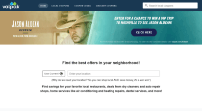 valpak.com - valpak: printable coupons, online promo codes, & local deals