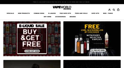 vapeworldaustralia.com.au - vape world australia  your premium e-liquid and vaping hardware shop