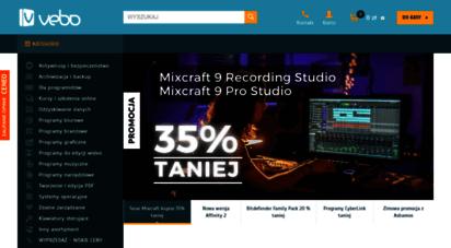vebo.pl - vebo - sprzedaż i rejestracja oprogramowania
