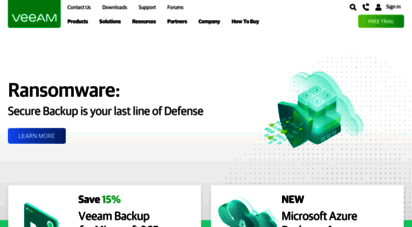 veeam.com - veeam is the global leader in backup that delivers cloud data management