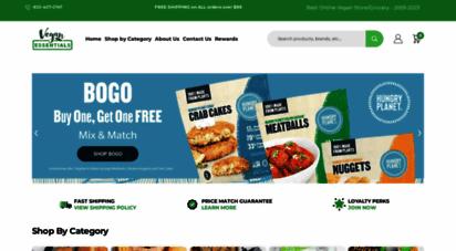 veganessentials.com - vegan essentials