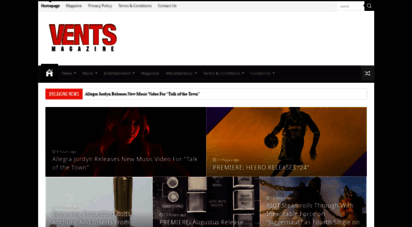 ventsmagazine.com - vents magazine - music and entertainment magazine