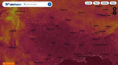 ventusky.com - ventusky - wind, rain and temperature maps