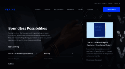 verint.com - powering actionable intelligence