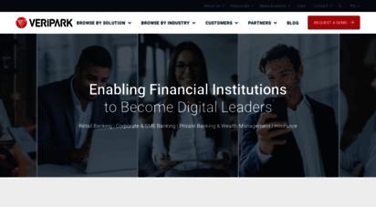 veripark.com - accelerate digital transformation in financial services - veripark