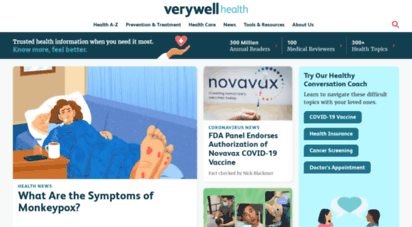 verywellhealth.com - verywell health - know more. feel better.