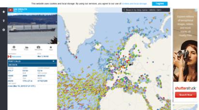 vesselfinder.com - free ais ship tracking of marine traffic - vesselfinder