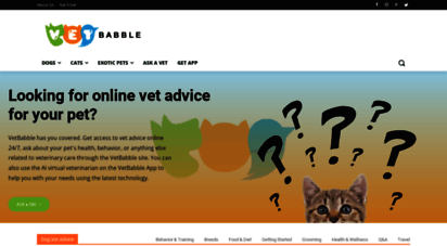 vetbabble.com - vetbabble  your home for helpful, fun and factual pet care info