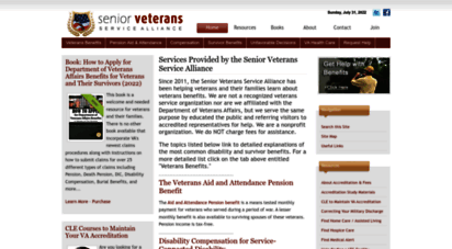 veteransaidbenefit.org - aid and attendance for veterans  veterans benefits for senior veterans