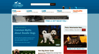 vetstreet.com - vetstreet.com is the internet´s leading pet care and health resource / find a veterinarian