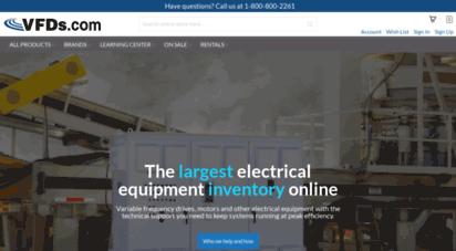 vfds.com - vfd, inverters, & ac drives  vfds.com