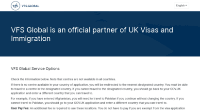 vfsglobal.co.uk - welcome to vfs global  vfs global