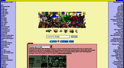 vgmuseum.com - the video game museum