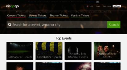 viagogo.com.tr - biletler - konser, spor & tiyatro  viagogo bilet borsası
