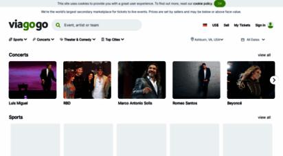 viagogo.de - tickets - konzerte, sport, fußball, theater  kaufen & verkaufen bei viagogo