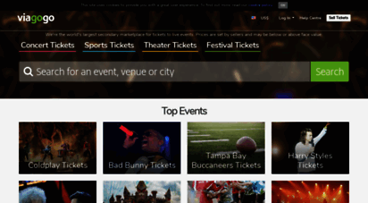 viagogo.fr - billets et places de concert, sport & théâtre  bourse d´échange viagogo