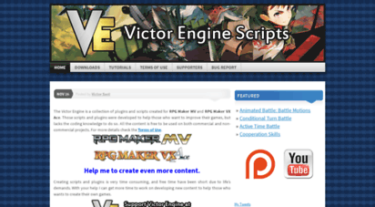 Welcome to Victorenginescripts wordpress com - Victor Engine