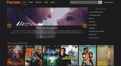 vidcorn.tv - vidcorn  ver series y películas online