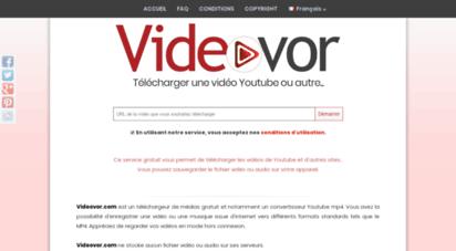 videovor.com - télécharger des vidéos youtube vers mp4 - videovor.com