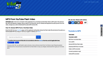 vidtomp3.com - convert youtube to mp3 & download youtube videos - free downloader