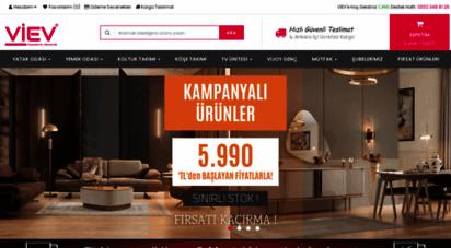 vievmobilya.com.tr - viev mobilya - ankara mobilya  siteler model fiyatları