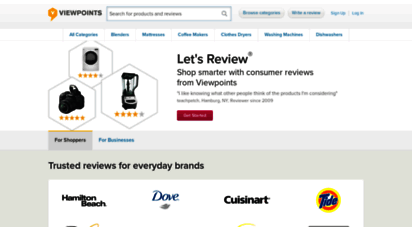 viewpoints.com - consumer reviews & product ratings - viewpoints.com