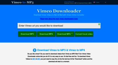 vimeotomp3.com - vimeo to mp3 & mp4! vimeo downloader & converter - download vimeo videos online easy & free!