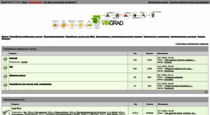 vingrad.ru - vpf:: - форум программистов