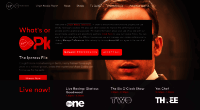 virginmediatelevision.ie - virgin media television - live and on-demand on virgin media player formerly tv3 and 3player