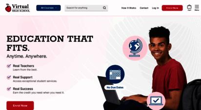 virtualhighschool.com - virtual high school - ontario online credits
