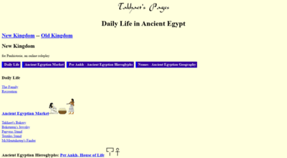 virtualkemet.com - daily life in ancient egypt, by takhaet