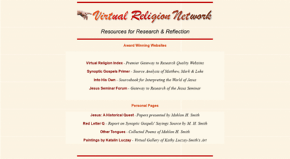 virtualreligion.net - virtual religion network