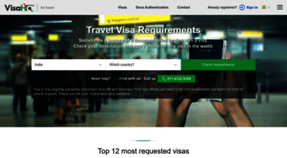 visahq.in - travel visa services: on-line application, visas requirements.