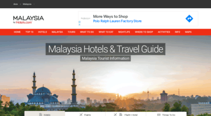 visit-malaysia.com - malaysia hotels & travel guide - malaysia tourist information