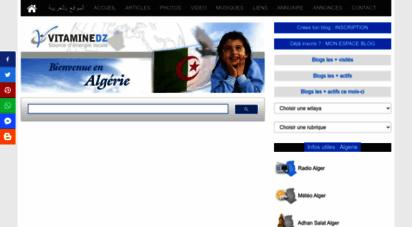 vitaminedz.com - algerie - actualiés algérie, informations algérie, photos algérie