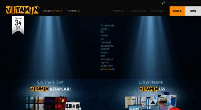 vitaminegitim.com - vitamin eğitim  interaktif konu anlatımı ve sınavlar