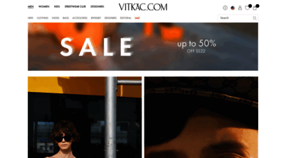 vitkac.com - vitkac - luxury, premium & contemporary shopping