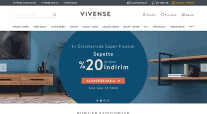 vivense.com - mobilya modelleri ve fiyatları - vivense online mobilya sitesi
