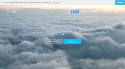 vivo.sx - welcome to vıvo  your video management platform