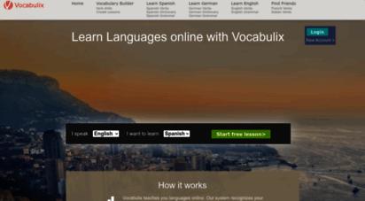 vocabulix.com