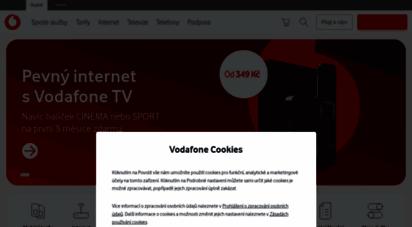 vodafone.cz - mobilní telefony, tarify, internet a další telekomunikační služby - vodafone.cz