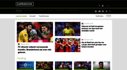 voetbalzone.nl - voetbalzone - laatste voetbalnieuws
