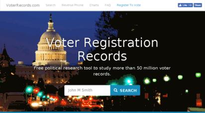 voterrecords.com -
