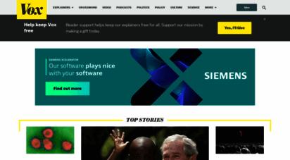 vox.com - vox - understand the news