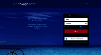 voyage-prive.co.uk - voyage privé: quality holidays, great offers and private sales online