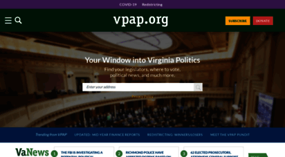 vpap.org - the virginia public access project